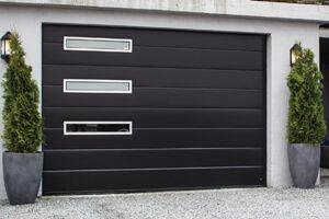 Garagedeur Type R40 MidRib Slick