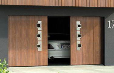 Zijwaardse deur berekenen